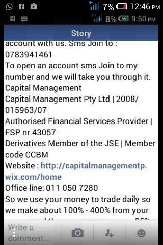 Use our details