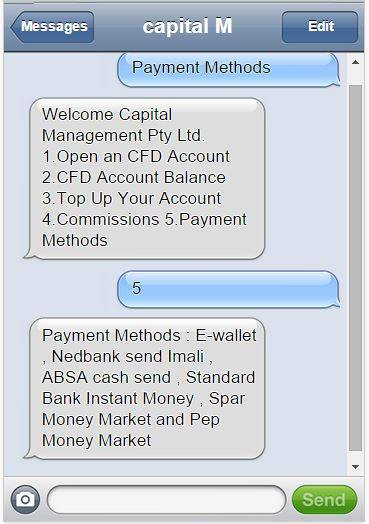SMS sign-up