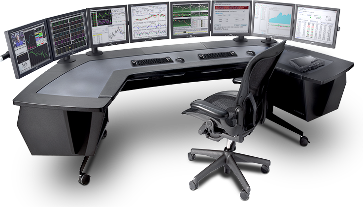 Trading desk screens